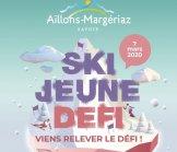Rendez-vous le 7 mars 2020 aux Aillons Margériaz  pour la Journée Ski Jeune Défi !