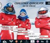Rendez-vous le 20 janvier 2019 à Megève pour la première étape du Challenge Quiksilver 2019 !